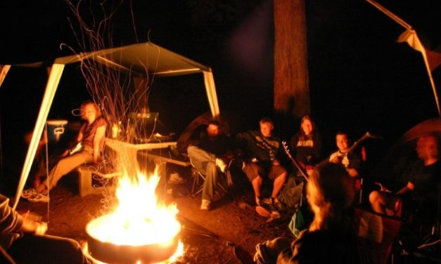 Camping with Kids !