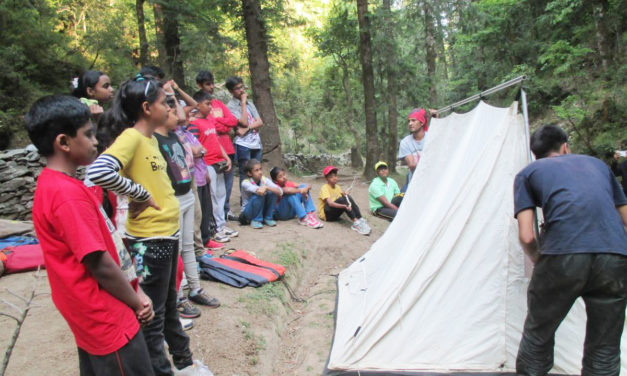 Ten reasons why camping is good for kids
